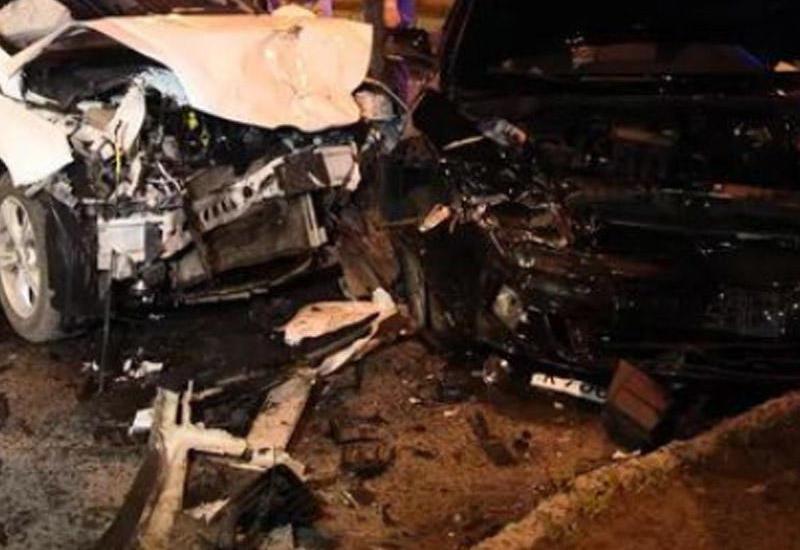 Beyləqanda ağır yol qəzasında 2 nəfər ölüb, 3-ü yaralanıb