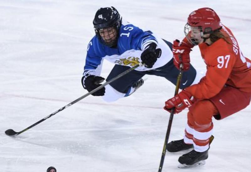 Российская хоккеистка дисквалифицирована за удар соперницы после матча на Олимпиаде