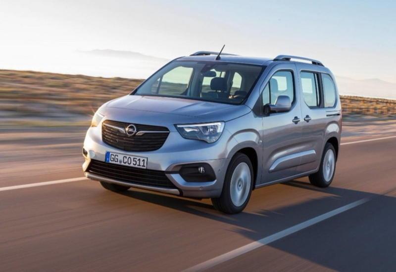 "Opel представил новое поколение компактвэна Combo <span class=""color_red"">- ФОТО</span>"