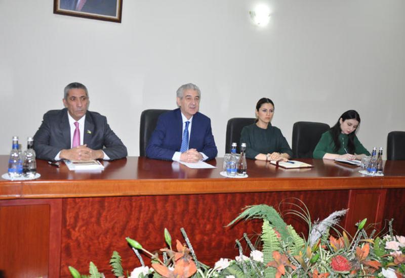 Али Ахмедов принял делегацию миссии БДИПЧ ОБСЕ