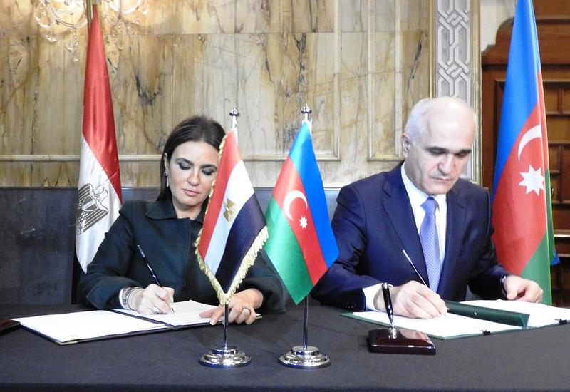 """Азербайджан и Египет подписали ряд документов о сотрудничестве <span class=""""color_red"""">- ФОТО</span>"""