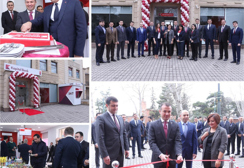 "Kapital Bank открыл новый Карточный центр в Гяндже <span class=""color_red"">- ФОТО</span>"