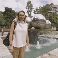 """Российская ведущая рассказала о своем мини-приключении в Баку <span class=""""color_red"""">- ФОТО</span>"""
