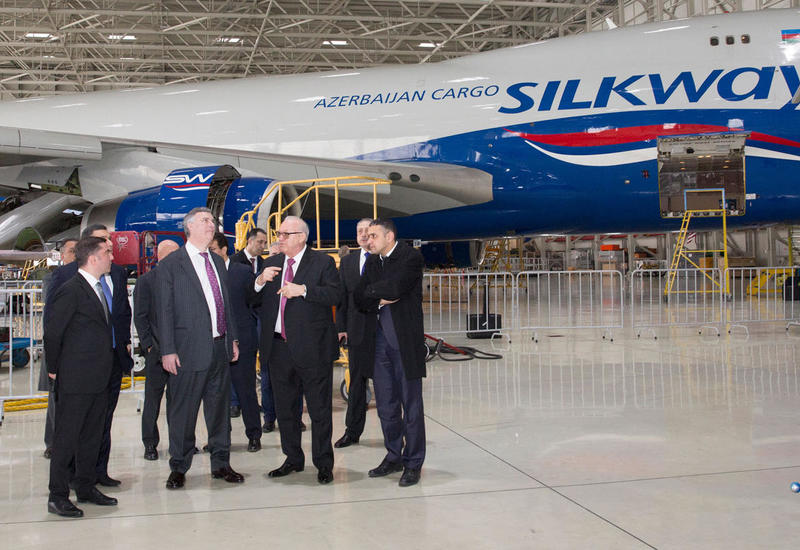"""""""Азербайджанские авиалинии"""" и Boeing вступают на новый этап сотрудничества <span class=""""color_red"""">- ФОТО</span>"""