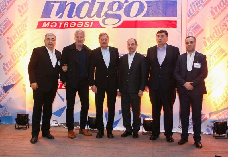 """Впервые в Азербайджане компания Indigo запускает цифровую печать этикеток <span class=""""color_red"""">- ФОТО</span>"""