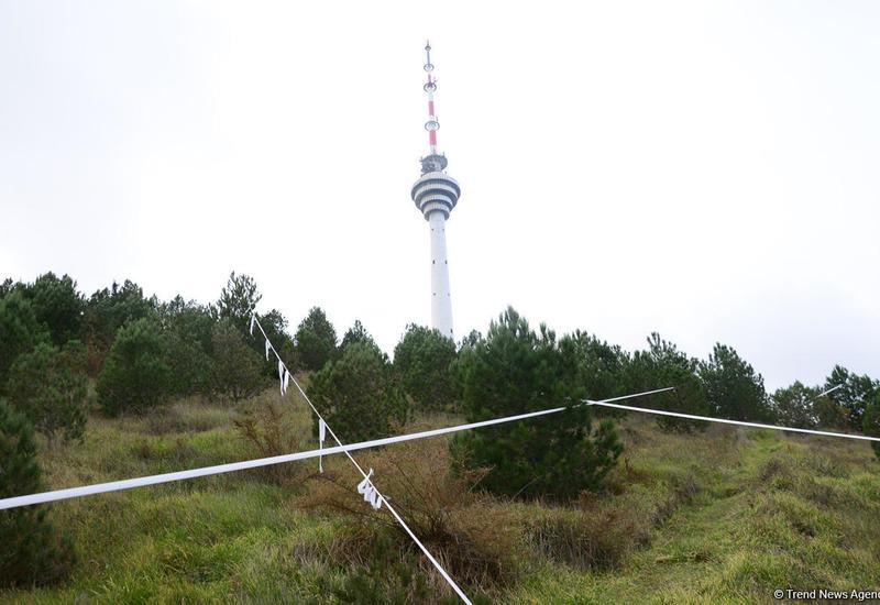 Для наблюдения за оползнем вблизи бакинской телебашни будут использоваться новые устройства