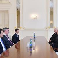 """Президент Ильхам Алиев: Азербайджан уже играет важную роль не только в регионе, но и в глобальном карго-трафике <span class=""""color_red"""">- ФОТО</span>"""