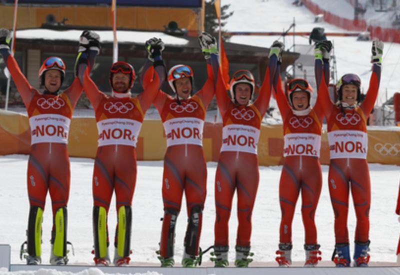 Норвегия побила исторический рекорд по количеству олимпийских медалей