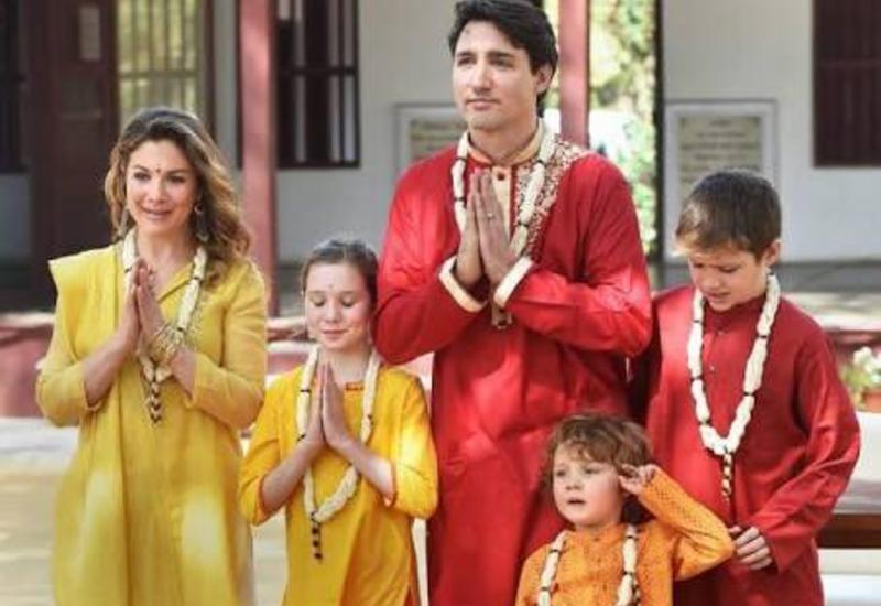 """В соцсетях пристыдили Джастина Трюдо за его поведение в Индии <span class=""""color_red"""">- ПОДРОБНОСТИ - ФОТО</span>"""