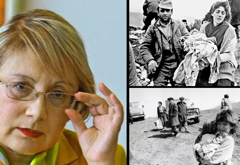 Новая Ирма Грезе: как Лейла Юнус смеялась над памятью жертв геноцида в Ходжалы