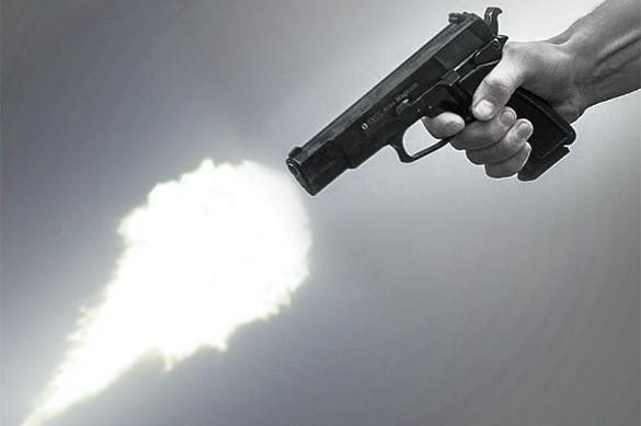 Житель америки случайно снял навидео собственное убийство