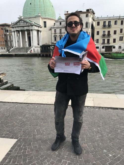 В Италии прошли просветительские акции, посвященные Ходжалинскому геноциду