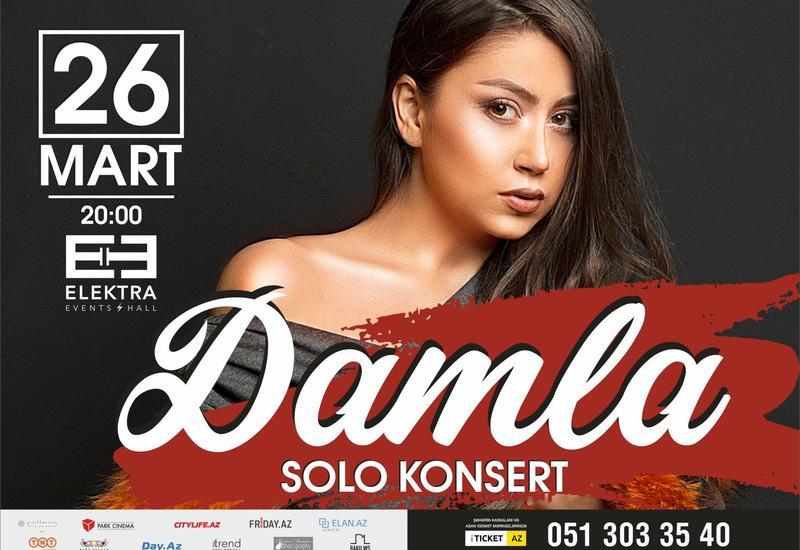 Damla выступит с сольным концертом на сцене Elektra Events Hall