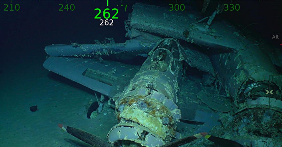 Уберегов Австралии найден авианосец «Лексингтон», затонувший вовремя исторической битвы