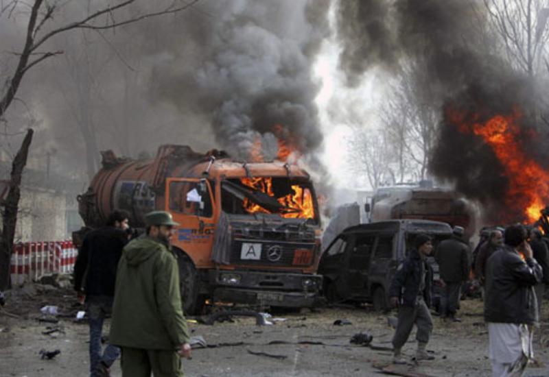 Теракт в столице Афганистана, много погибших и раненых