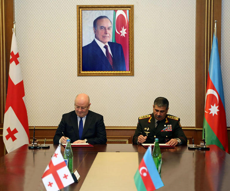 Военные Грузии иАзербайджана будут развивать сотрудничество