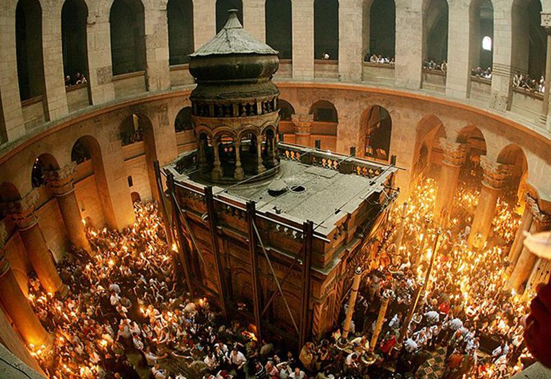 В Иерусалиме разгорается скандал - армяне снова оскорбили христианскую святыню