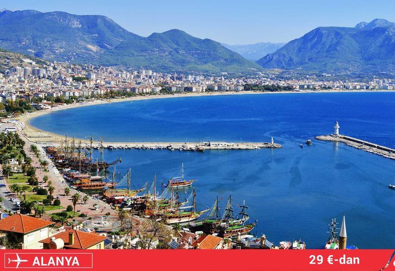 Buta Airways открывает рейсы в популярный курорт Турции
