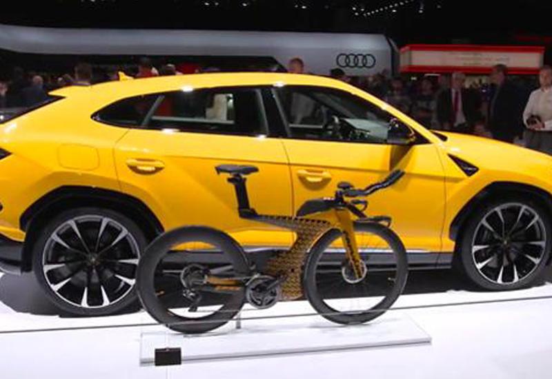 В Lamborghini представили уникальный спортивный велосипед