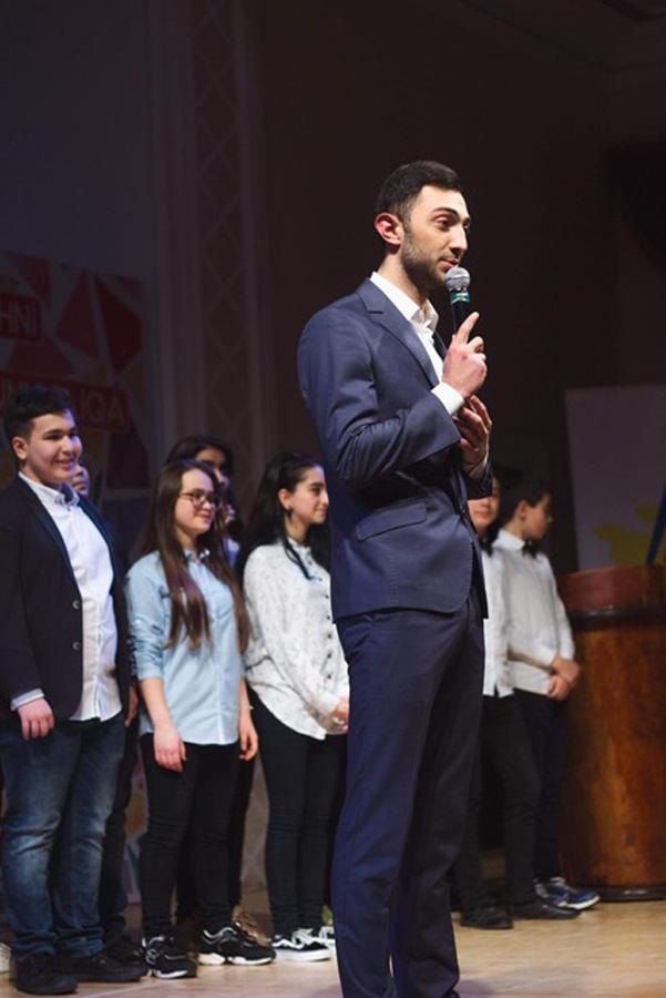 В Баку прошли игры 1/4 финала Азербайджанской Юниор Лиги КВН