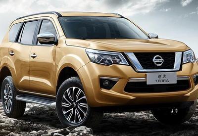 Nissan показал новый внедорожник Terra со всех сторон