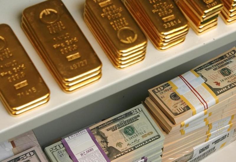 Валютные резервы Азербайджана выросли в 27 раз