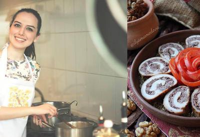 Куриный рулет с начинкой «Лявянги» - Рецепт от азербайджанского фуд-блогера