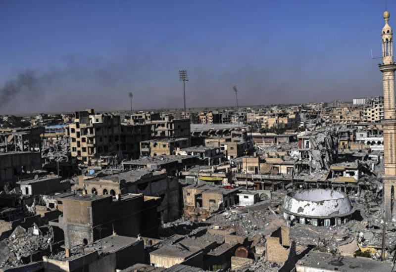 Угроза эпидемии в сирийской Ракке: под завалами остаются тысячи тел