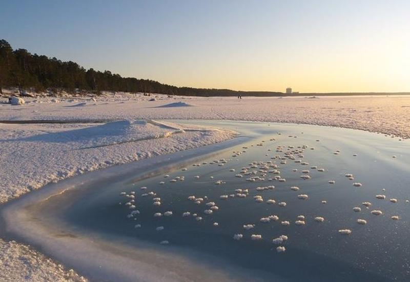 "Рыбак снял ледяное ""цунами"" на Финском заливе <span class=""color_red"">- ВИДЕО</span>"