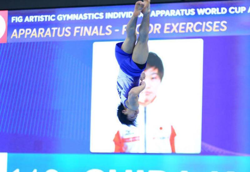 """Японский гимнаст: Прекрасная организация Кубка мира в Баку помогла выиграть """"золото"""""""