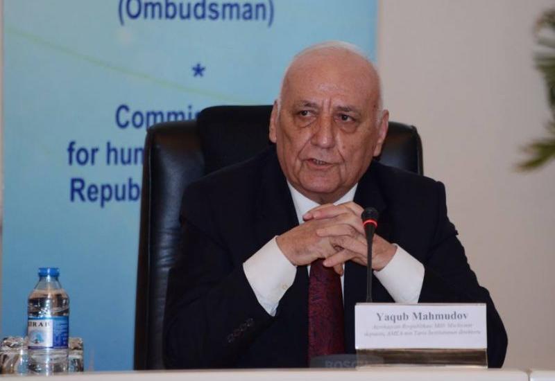 """Yaqub Mahmudov: """"Cümhuriyyət dünyaya göstərdi ki, biz humanist dövlətik"""""""