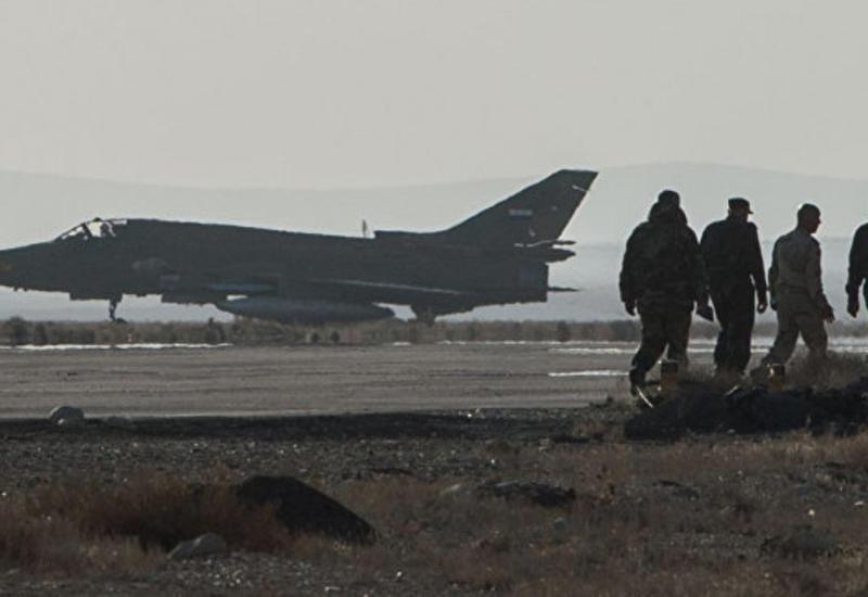 В провинции Дамаск боевики сбили самолет сирийских ВВС
