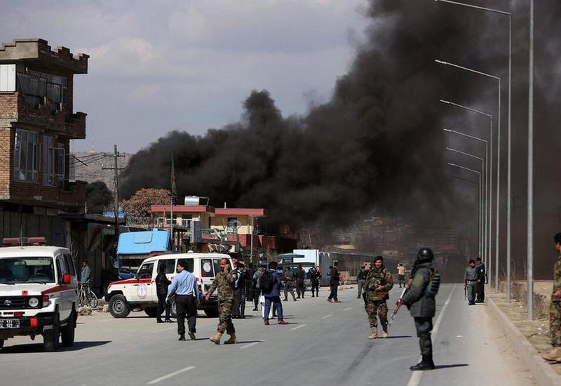 Сильный взрыв в Кабуле, есть жертвы