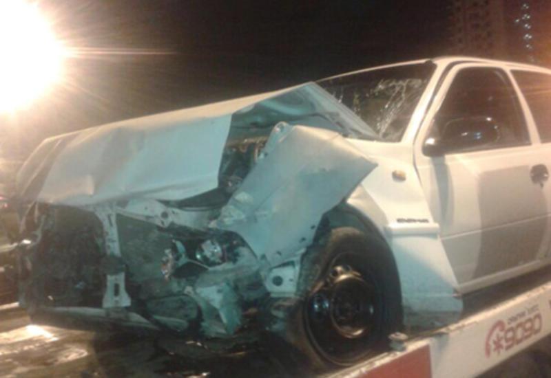 Masallıda qəza: 4 nəfər yaralandı