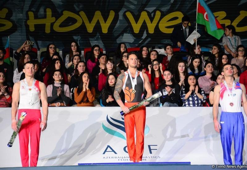 Нидерландский гимнаст: Выиграть золото в Баку было нелегко