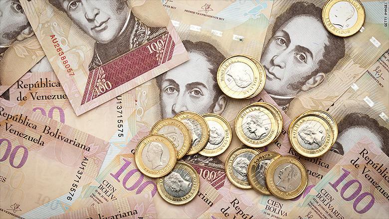 Альтернативные валюты появились вВенесуэле из-за дефицита наличности