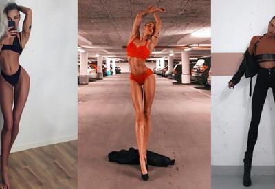 """Ноги этой девушки сводят с ума миллионы! При росте 178, длина ее ног - 108 см <span class=""""color_red"""">- ФОТО</span>"""