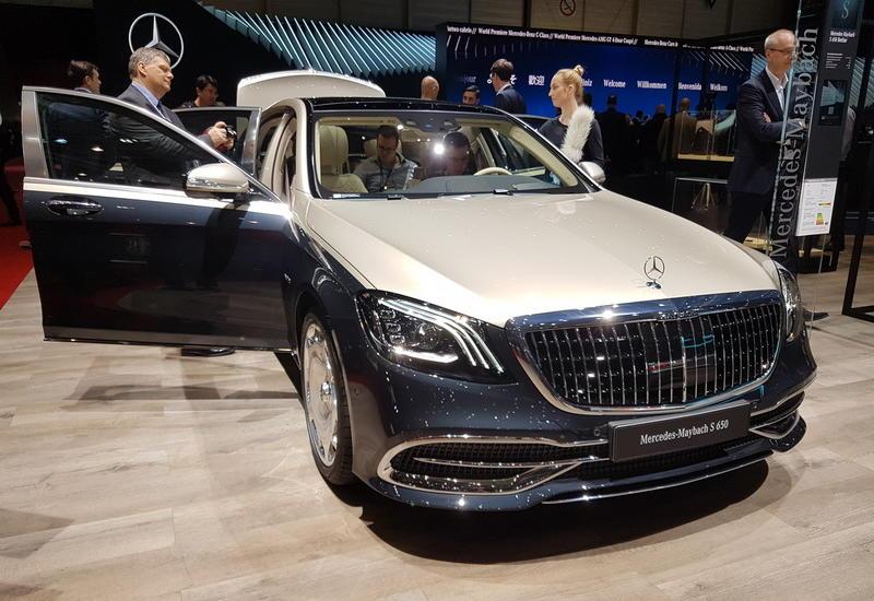 "Mercedes-Maybach S-Class научили проецировать картинки на дорогу <span class=""color_red"">- ФОТО</span>"
