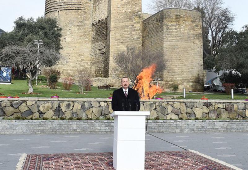 Президент Ильхам Алиев: План дальнейшего всестороннего развития Баку находится в центре внимания