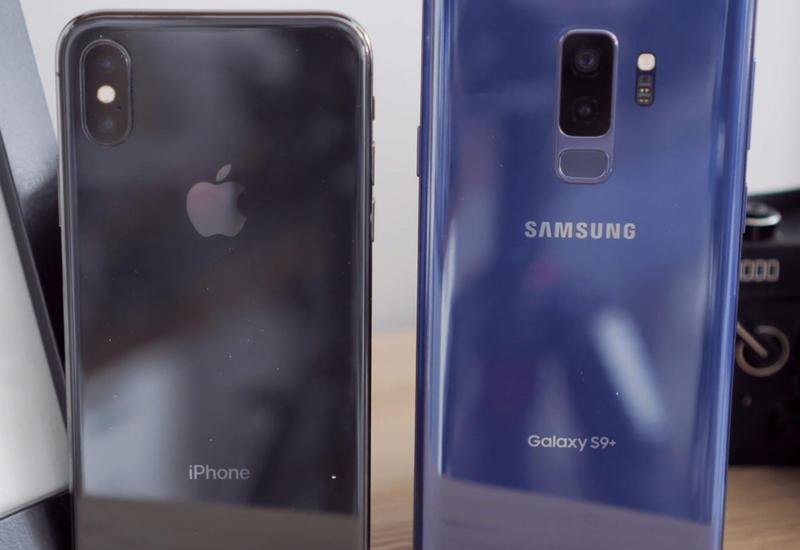 """Камеры Samsung Galaxy S9+ и iPhone X сравнили и пришли к неожиданному выводу <span class=""""color_red"""">- ВИДЕО</span>"""