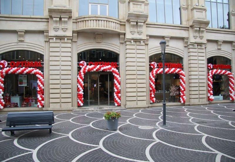 60-й магазин Optimal открылся прямо в центре города – на улице Низами