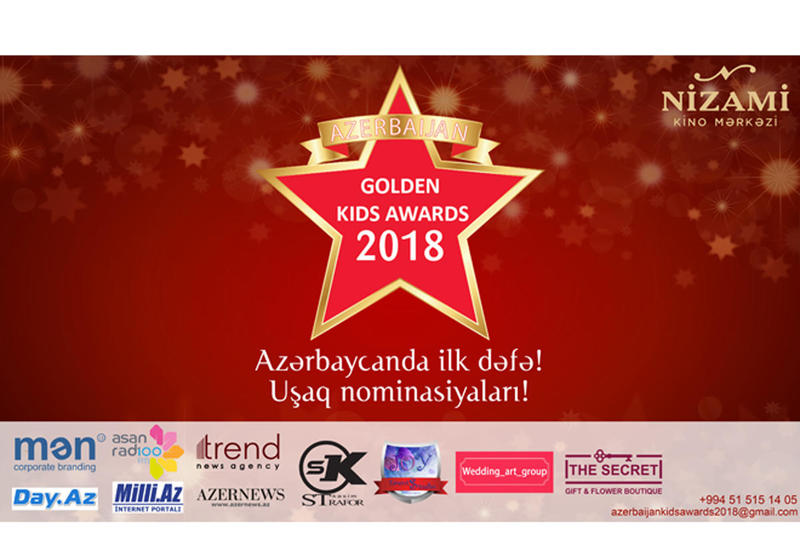 Стартует грандиозный конкурс Azerbaijan Golden Kids Awards, посвященный 100-летию АДР