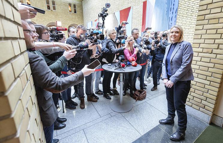 Норвежский министр подала вотставку из-за записи вфейсбуке