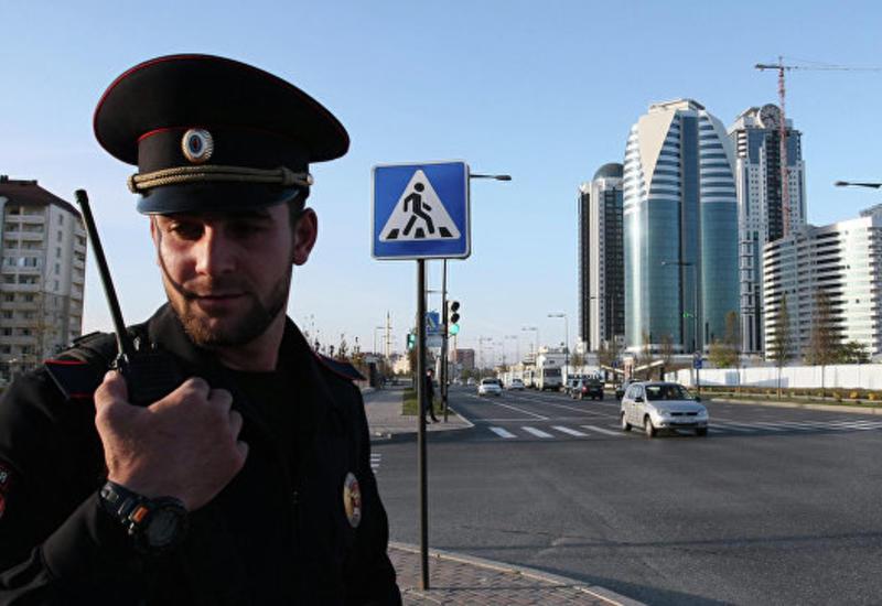 В Грозном в перестрелке ранили полицейского