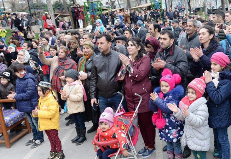 """Bakıda təntənəli """"Novruz"""" festivalı <span class=""""color_red"""">- VİDEO</span>"""