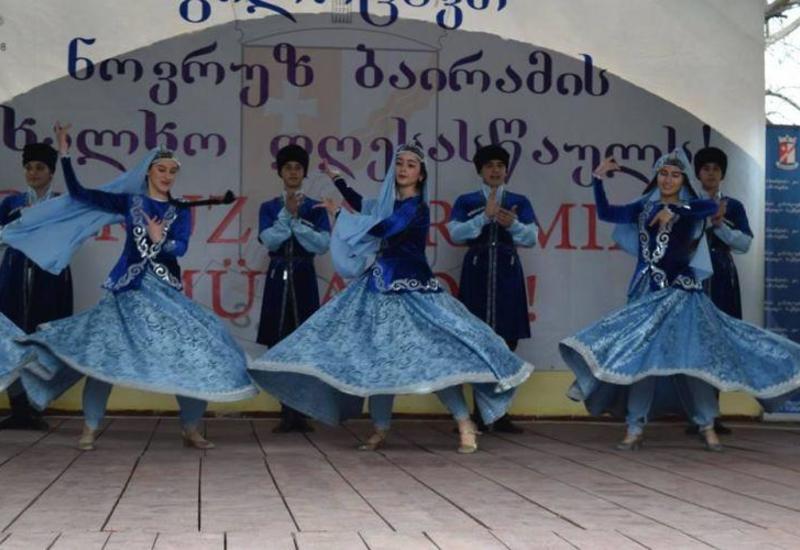 """Gürcüstan azərbaycanlıları Novruz bayramını qeyd edib <span class=""""color_red"""">- FOTOLAR</span>"""