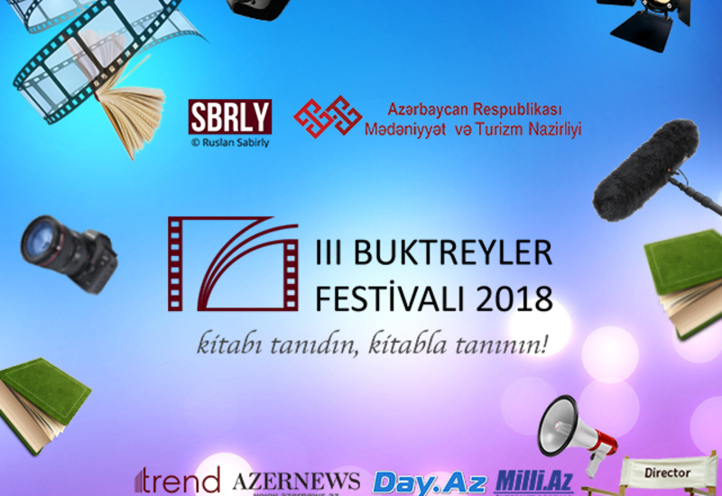 Известные личности Азербайджана призывают молодежь к участию в III Фестивале буктрейлеров