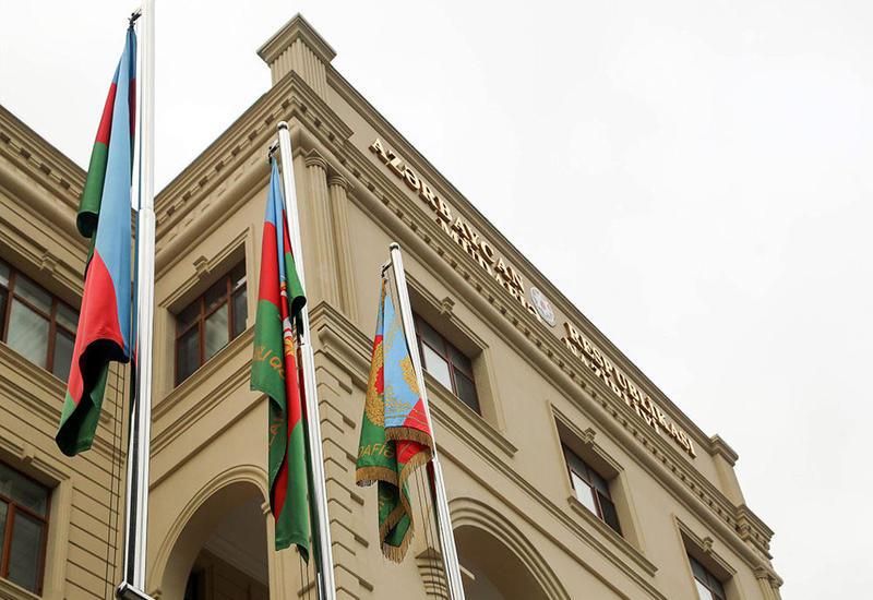 Минобороны Азербайджана: Криминальный режим Армении распространяет лживую информацию с целью отвлечения общественности