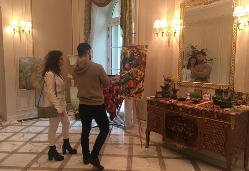 "Новруз азербайджанских художников в Париже <span class=""color_red"">- ФОТО</span>"