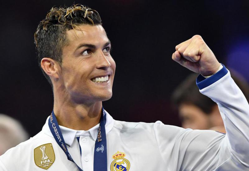 Роналду признан лучшим игроком года в Португалии